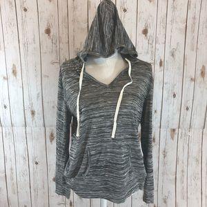 Mod Cloth Light Weight Gray Hoodie